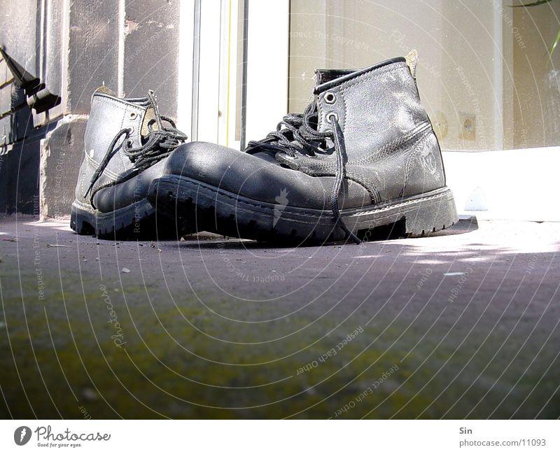 Old Footwear Dirty Floor covering Things