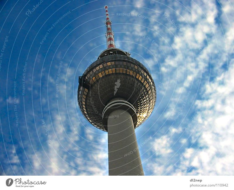 Sky Berlin Television Tower Monument Radio (broadcasting) Landmark Aviation Alexanderplatz Radio technology Broacaster