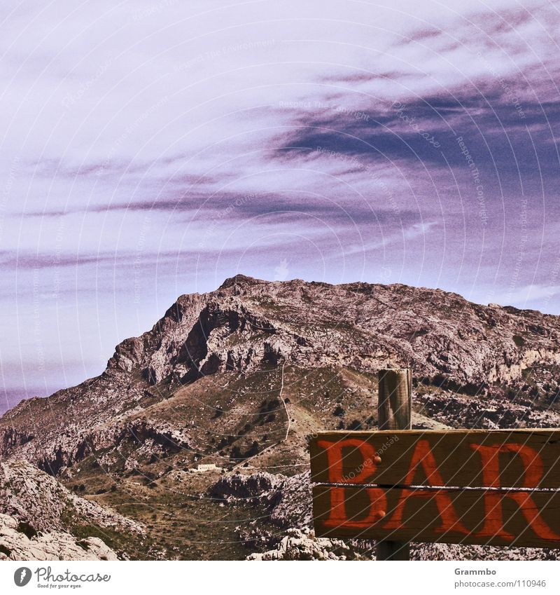 marvelous Clouds Hiking Vacation & Travel Meadow Floor mat Bar Relaxation Majorca Mountain Tall Sky Lanes & trails Stone