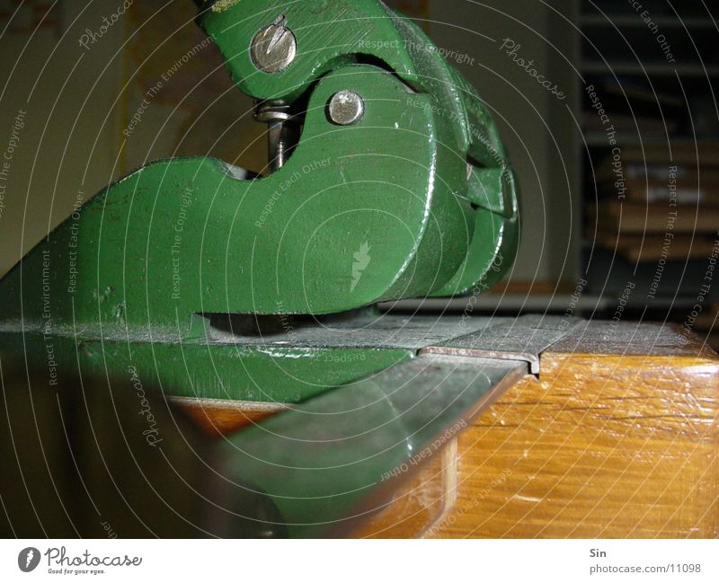 punch Hole puncher Green Things Leitz Metal