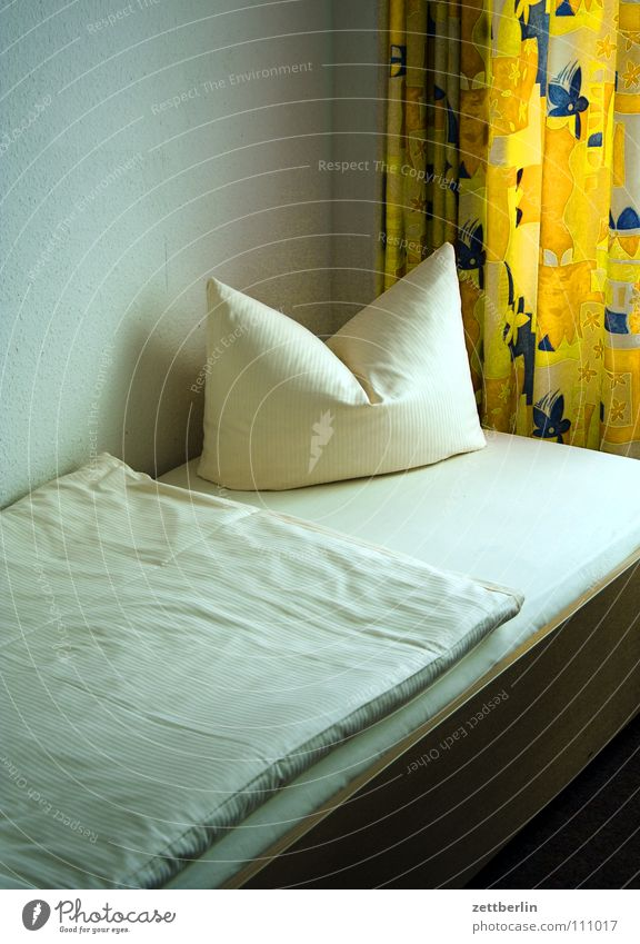 Pleasant night Hotel Hostel Sleep Dream Bed Double bed Cushion Duvet Curtain Services Bedroom Blanket Pillow Hotel room