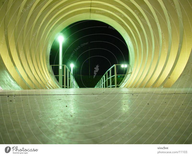that way Tunnel Night Round Architecture Modern Lanes & trails