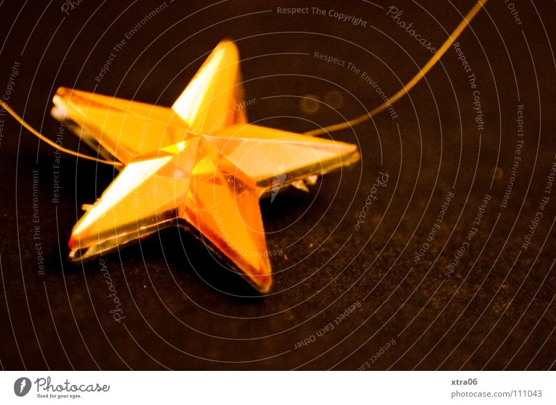 Christmas & Advent Feasts & Celebrations Gold Star (Symbol) Near Christmas star Christmas decoration Elated Cautious
