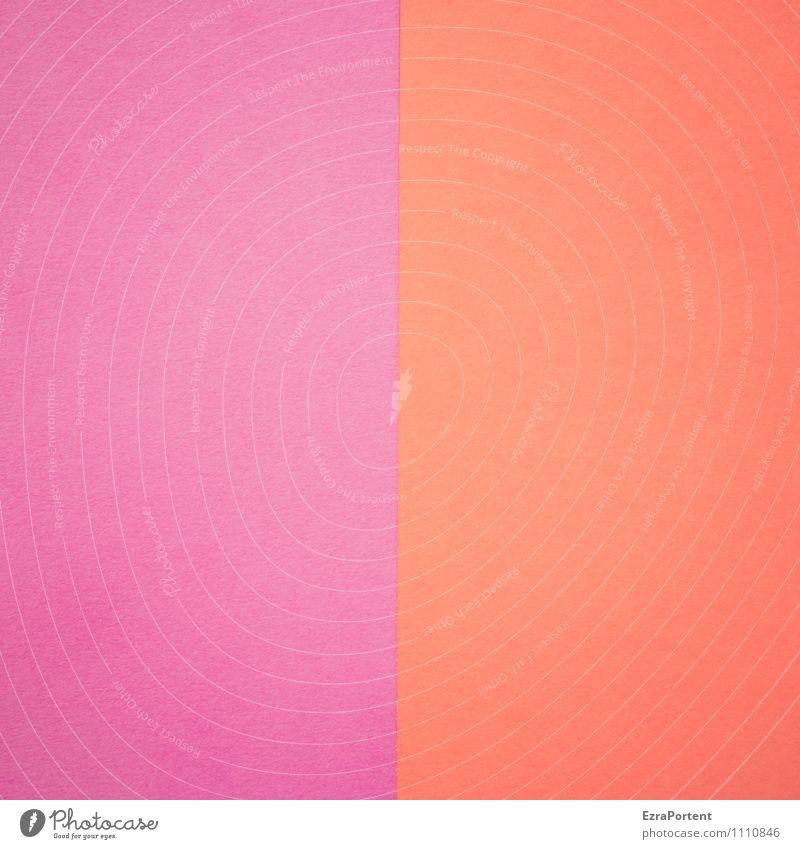 L  R Line Illuminate Esthetic Violet Red Design Colour Illustration Graphic Paper Divide Dividing line Match Background picture Colour photo Interior shot