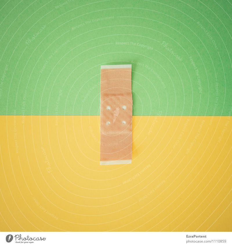 color coherence G|G Line Yellow Green Design Colour Adhesive plaster Point Attachment Match Connectedness Illustration Graph Graphic Colour photo Interior shot