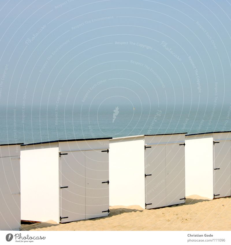 Sky White Ocean Blue Summer Beach Vacation & Travel House (Residential Structure) Playing Sand Watercraft Coast Architecture Door Horizon Navigation
