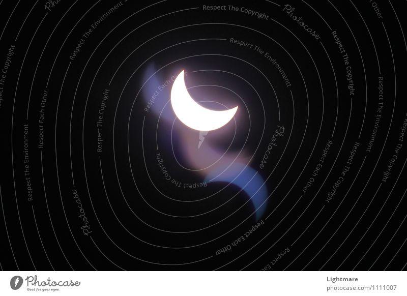 Sky Nature Blue White Sun Far-off places Dark Black Exceptional Moody Dream Illuminate Fantastic Elements Sign Infinity