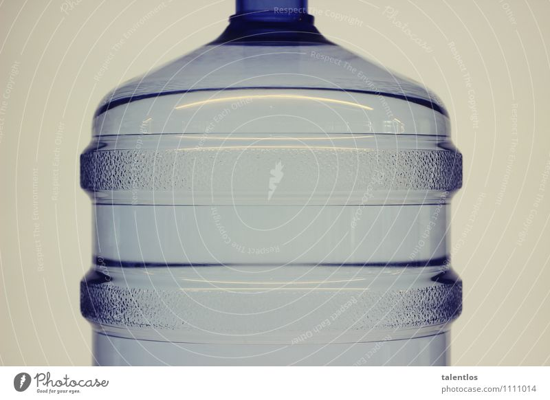bottle Packaging Plastic packaging Container Bottle Water Drinking Bottle of water Transparent Statue Deposit Fluid Colour photo Subdued colour Artificial light
