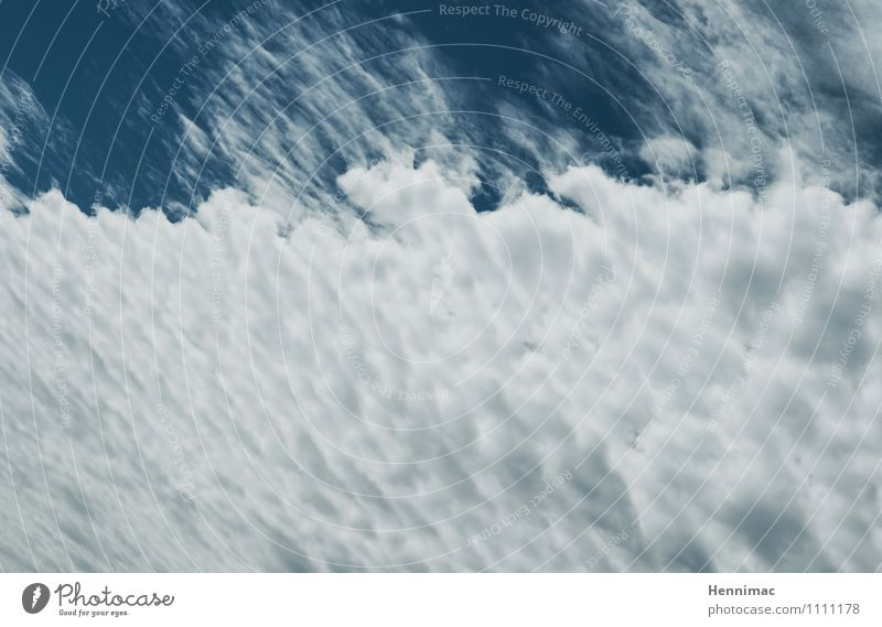 Sky Nature Blue White Summer Clouds Gray Moody Above Weather Air Climate Soft Beautiful weather Level Summer vacation