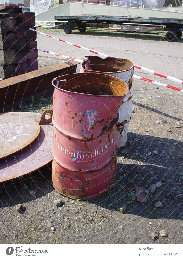 Red Industry Harbour Rust Fire prevention Keg Water for firefighting