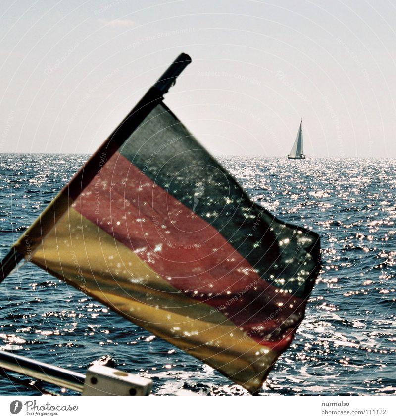 Ninth of November Flag Germany Navigation Stern Pride Sailing Watercraft Ocean Reunification Agreed Wall (barrier) Events Joy sea flag National Baltic Sea