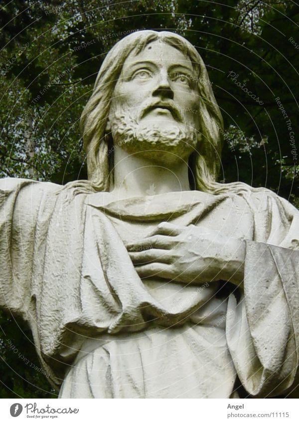 Jesus Jesus Christ Cemetery Statue Things