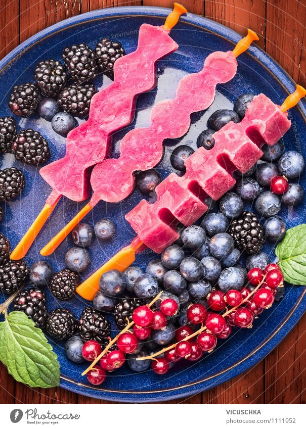Blue Summer Healthy Eating Red Life Style Garden Food Pink Design Fruit Nutrition Table Ice cream Kitchen Frozen