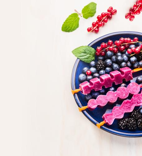Beautiful Summer Healthy Eating Life Style Background picture Garden Food photograph Fruit Design Table Ice cream Soft Cool (slang) Kitchen Candy
