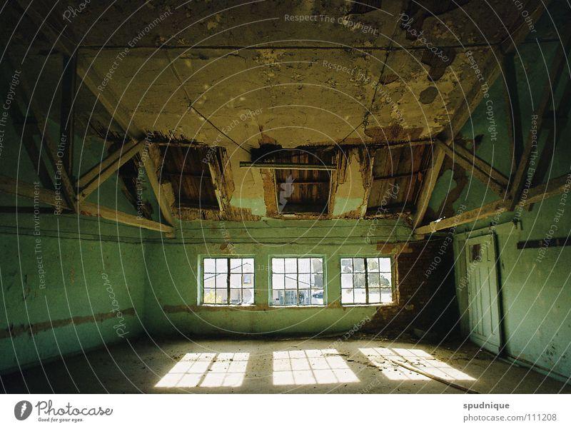 Old Sun Window Building Room Lighting Empty Industry Factory Transience Derelict Dismantling Forget