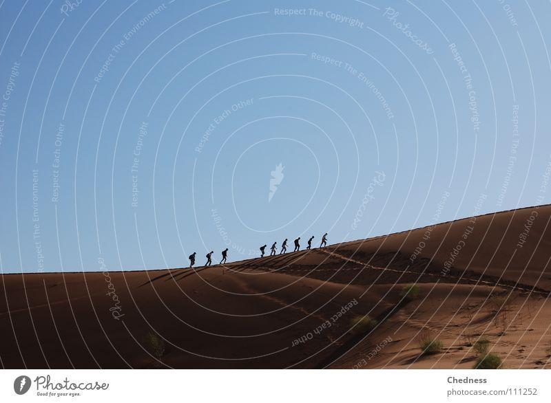 Blue Red Sand Hiking Earth Africa Desert Beach dune Namibia 9 Mountain ridge Namib desert