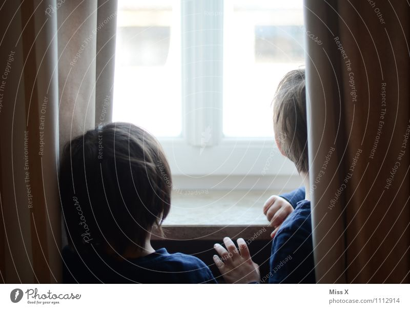 When's Dad coming? Human being Child Toddler Boy (child) Brothers and sisters Family & Relations Infancy Head 2 1 - 3 years 3 - 8 years Window Looking Wait