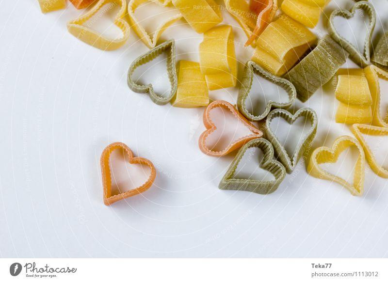Emotions Love Food Nutrition Heart Organic produce Noodles Banquet Italian Food