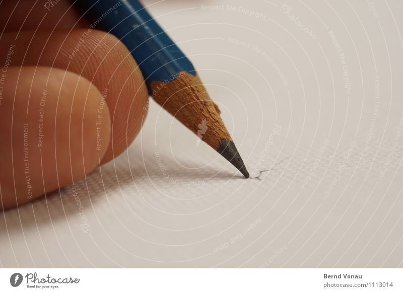 Human being Man Blue White Adults Wood Brown Art Skin Point Fingers Painting (action, artwork) Draw Pen Rough Pencil