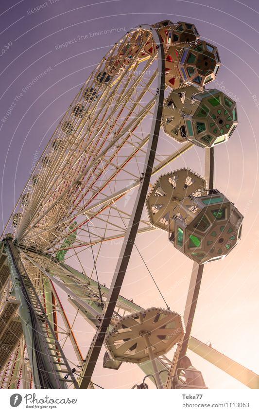 Vacation & Travel Summer Sun Yellow Emotions Moody Park Shows Fairs & Carnivals Summer vacation Entertainment Ferris wheel
