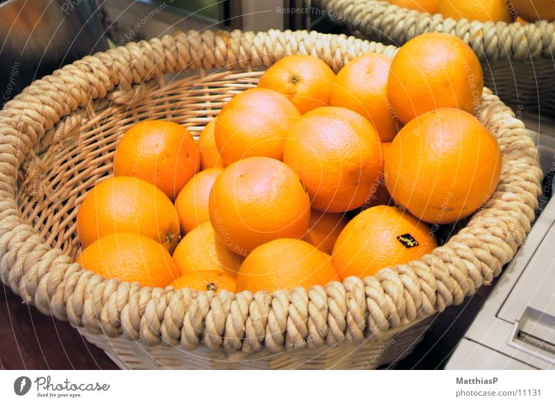 Summer Nutrition Garden Orange Fruit Fresh Vegetable Markets Basket Straw South America Wholesale market