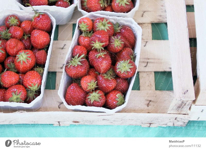 Red Summer Garden Germany Fruit Fresh Europe Markets Strawberry Quality Hamburg Wholesale market
