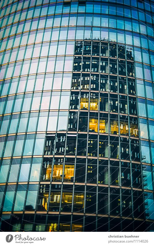 City Window Cold Architecture Building Art Facade Modern Large Railroad Clean Might Manmade structures Landmark Capital city Downtown