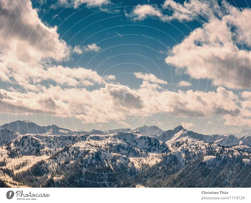 200 - Over the Alps Wellness Life Harmonious Well-being Contentment Senses Relaxation Meditation Tourism Trip Adventure Far-off places Freedom Snow