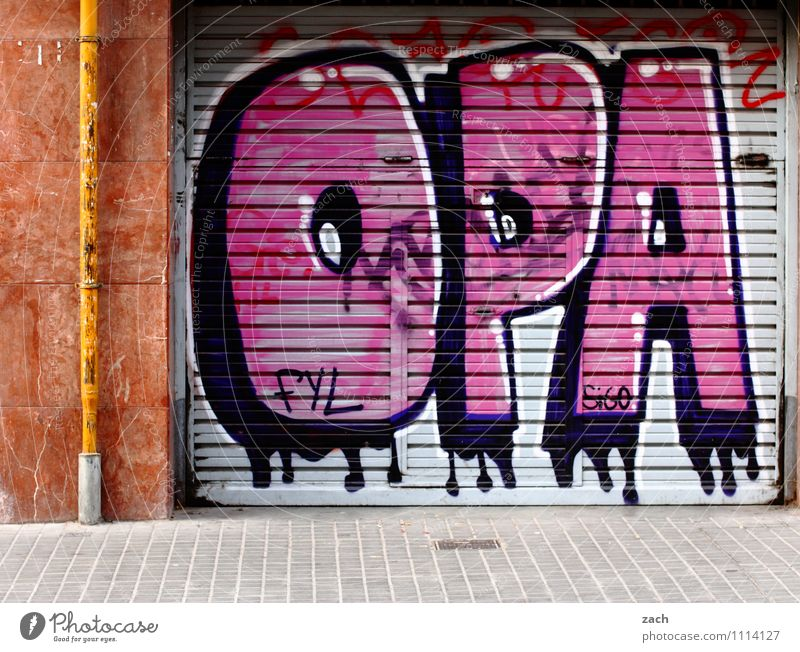 Durable Grandfather. Male senior Man Senior citizen 60 years and older Sign Characters Graffiti Old 50 plus Symbols and metaphors Letters (alphabet)