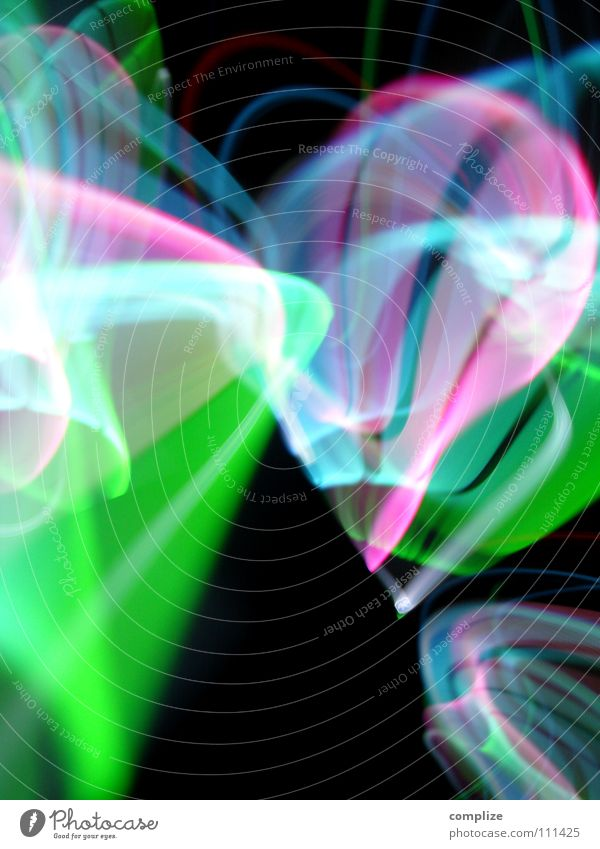 Blue Green Colour Black Lighting Background picture Art Lamp Party Bright Glittering Transport Music Technology Speed Fantastic