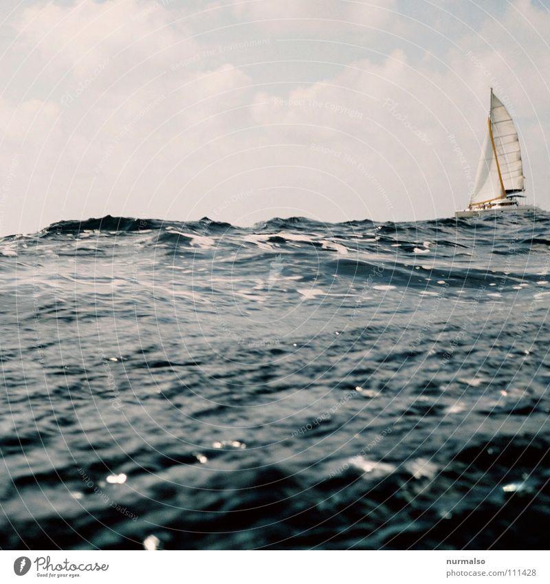 Water Ocean Blue Clouds Loneliness Sports Playing Lake Air Watercraft Waves Wind Rope Free Horizon Europe