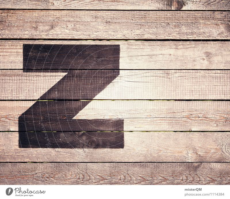 Z wie... Art Esthetic Letters (alphabet) Zoo Language Symbols and metaphors Fence Lettering Typography Latin alphabet Colour photo Subdued colour Exterior shot