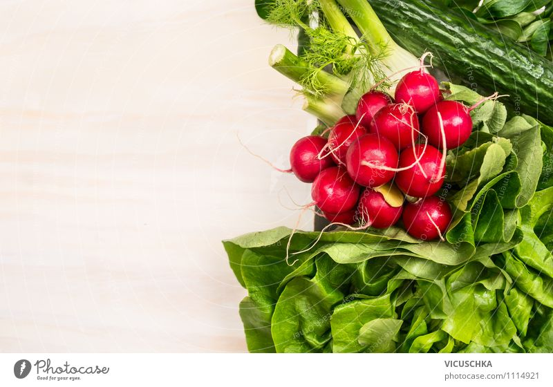 Fresh organic vegetables Food Vegetable Lettuce Salad Nutrition Lunch Dinner Organic produce Vegetarian diet Diet Style Design Healthy Eating Life Nature