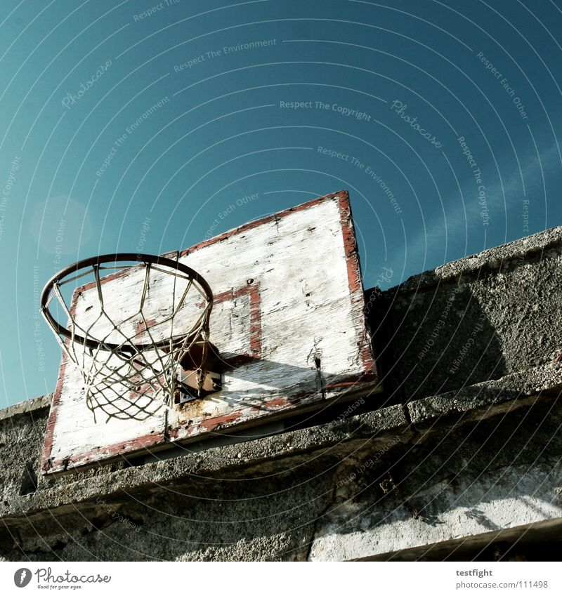 basketball Ball sports Green Wood Wood flour Wall (barrier) Exceptional Far-off places Rectangle Dirty Derelict Leisure and hobbies Movement Practice Sports