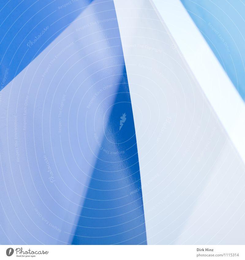 aspiring Steel Sign Blue Gray White Elegant Style Design Building Architecture Line Esthetic Exceptional Sharp-edged Simple Uniqueness Precision Illustration