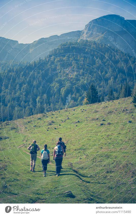 wanderlust Leisure and hobbies Vacation & Travel Tourism Trip Summer Sun Mountain Hiking Sports Climbing Mountaineering Human being Masculine Feminine