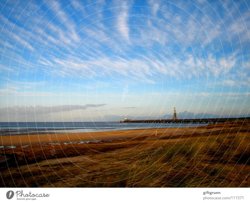 Nature Sky Ocean Beach Clouds Autumn Sand Landscape Coast Transience Seasons North Sea November October Bad weather Autumnal