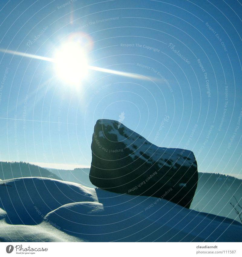 Sky White Sun Winter Calm Cold Snow Mountain Stone Bright Fog Frost Hill Still Life Dazzle Flashy