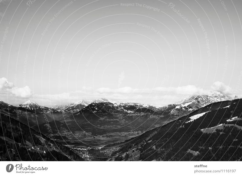 Around the World: Alps around the world Vacation & Travel Travel photography Tourism Landscape Town Skyline steffne