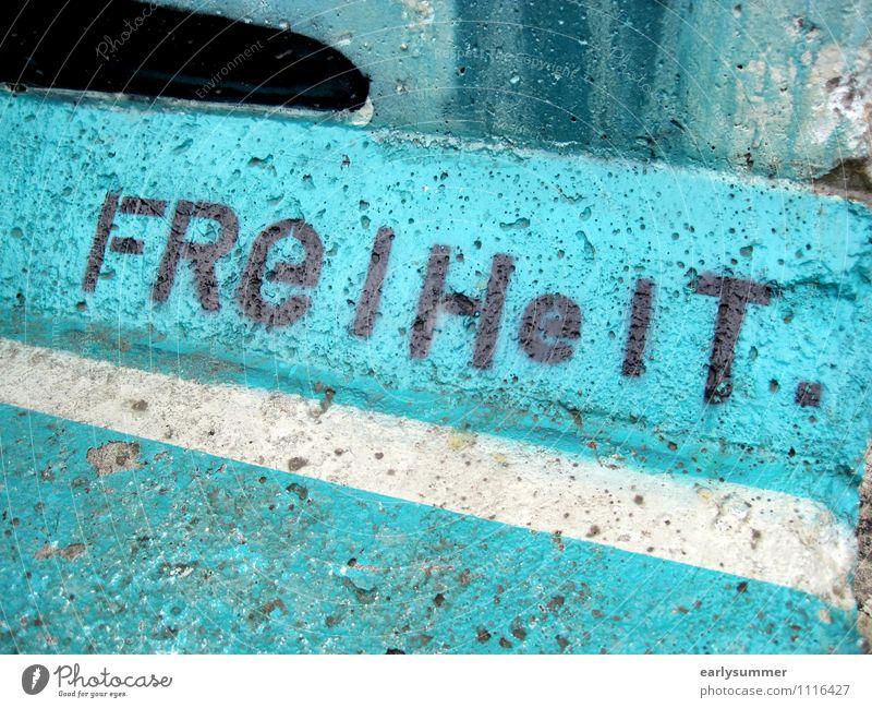 Freedom lettering on the Berlin Wall loosening Quarantine coronavirus Relaxations corona crisis The Wall freedom of the press Freedom of expression Graffiti