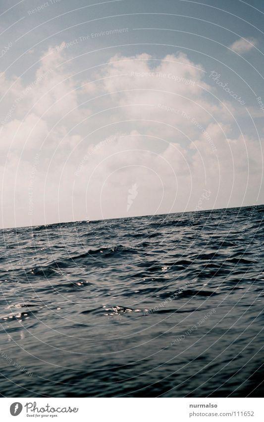 Blue Summer Clouds Playing Emotions Lake Watercraft Waves Fear Deep Mediterranean sea To break (something) Swing Valley Panic Sailboat