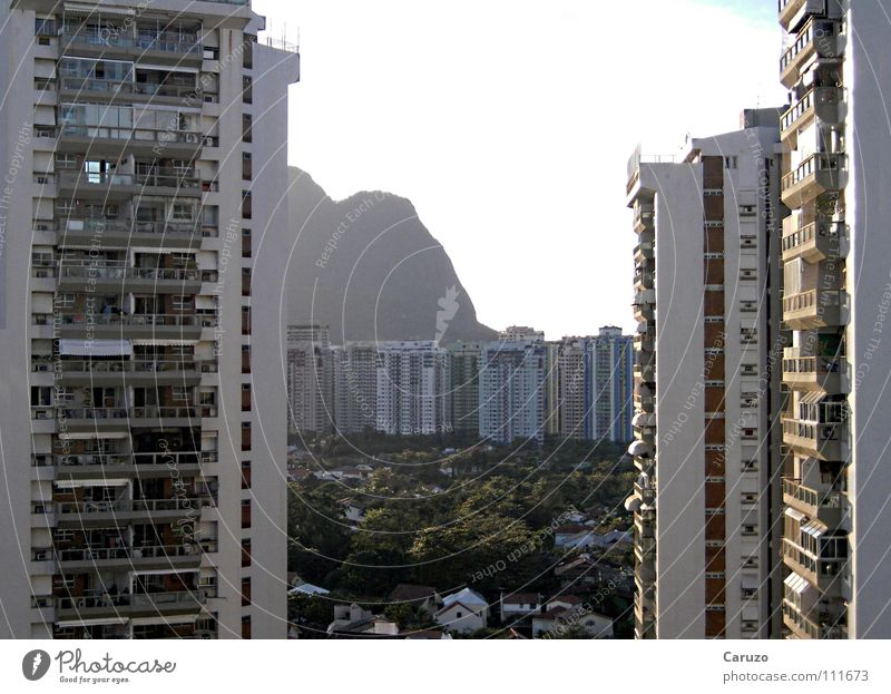Summer Beach Vacation & Travel House (Residential Structure) Building Warmth Coast High-rise Tall Tourism Vantage point Physics Hotel Balcony Brazil Rio de Janeiro