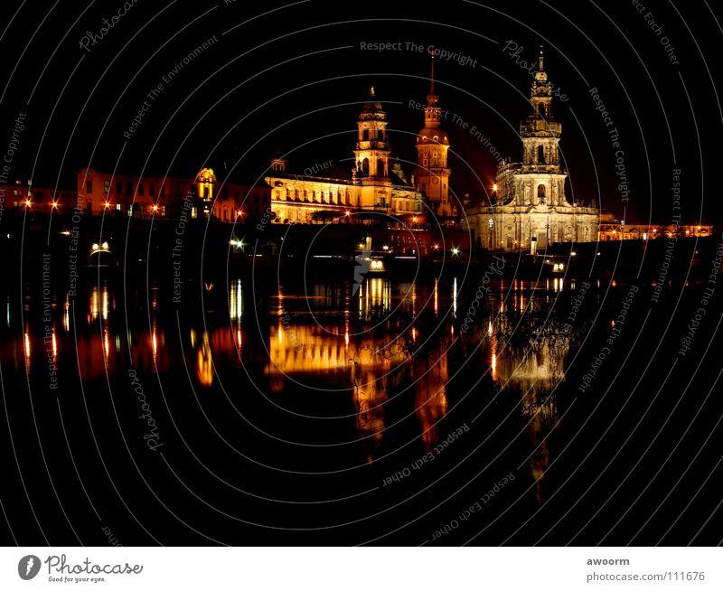 Water Watercraft Bridge River Dresden Elbe Opera Semper Opera Steamer Hofkirche