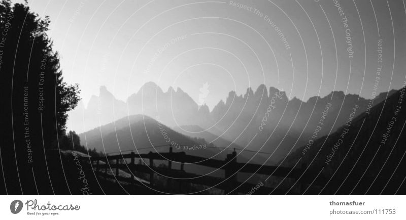 Beautiful Joy Calm Far-off places Mountain Think Fear Fog Hope Alps
