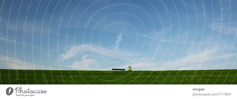 Beautiful Sky Calm Clouds Relaxation Autumn Meadow Dream Wall (barrier) Air Room Small Large Horizon Earth Perspective