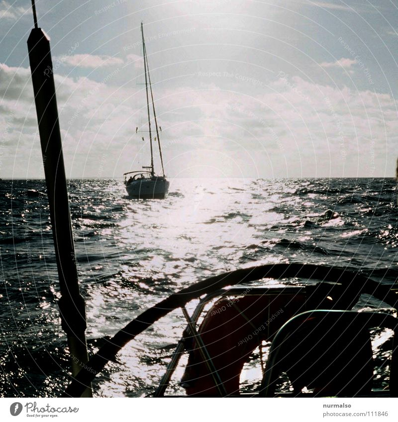 Nature Sun Ocean Clouds Sports Playing Freedom Lake Air Watercraft Glittering Driving Clean Concentrate Sailing