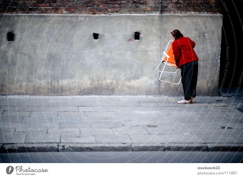 City Senior citizen Street Colour Gray Chair Joie de vivre (Vitality) Sidewalk Traffic infrastructure Anonymous