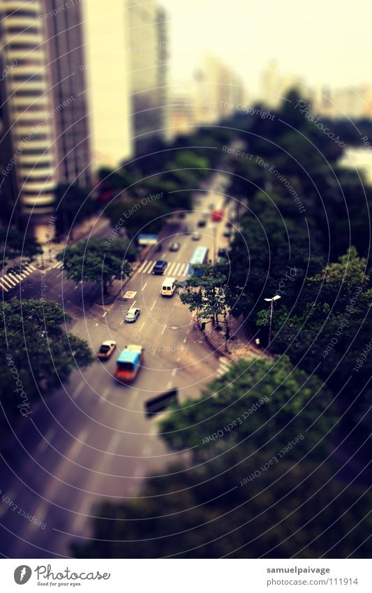 Real miniatures Bra Town Lomography Samuel Gê tilt shift Belo Hotizonte cidade crosprocess Tilt-Shift