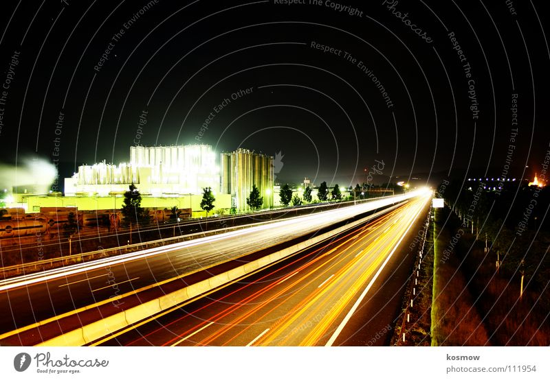 Street Bridge Industrial Photography Highway Traffic infrastructure Upper Franconia Bayreuth