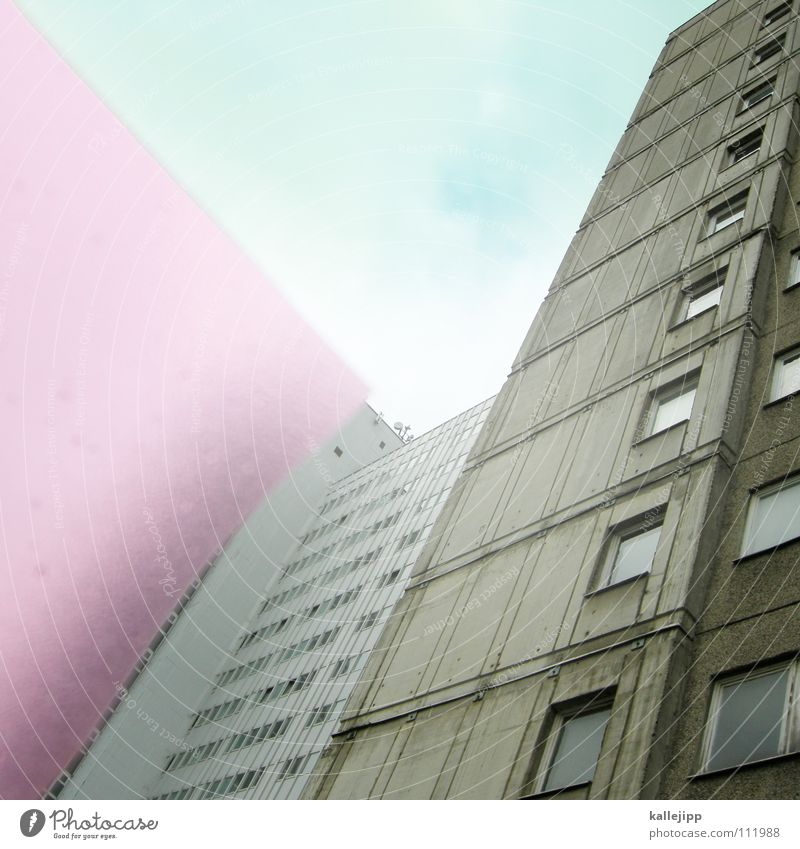 Sky House (Residential Structure) Colour Wall (building) Window Architecture Room Pink Empty Corner Living or residing Farm Vantage point Border Decline Frame